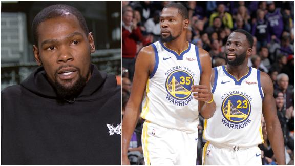 KD: Draymond incident played a part in me leaving