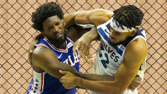 UFC fighters break down Embiid-Towns brawl