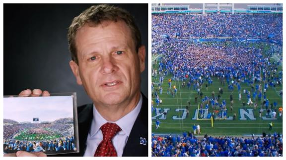 Kentucky photo captures a magic moment that make CFB special