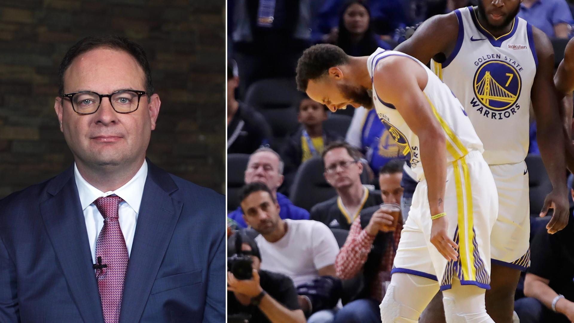 Woj: Curry injury could propel Warriors into lottery