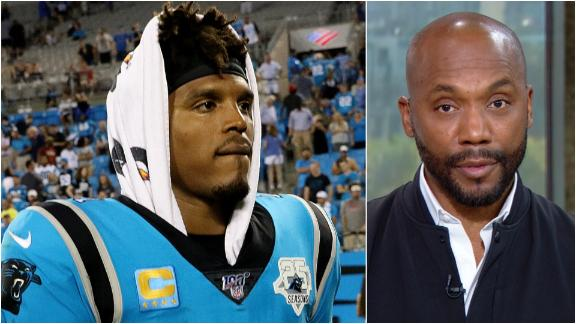 Riddick: Newton, Panthers have to be smart with this injury
