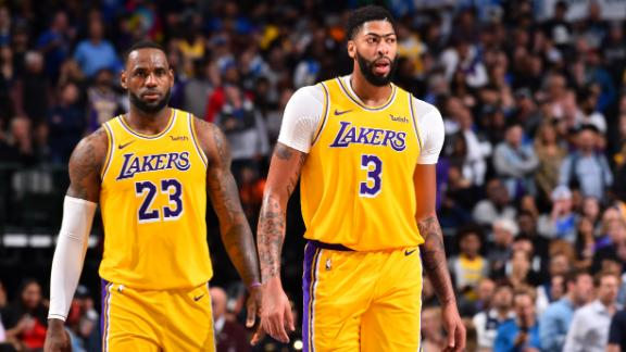 LeBron and AD combine for 70 in thrilling OT win