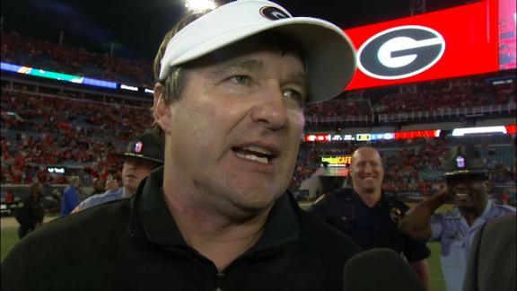Smart credits UGA for ball security in win against UF