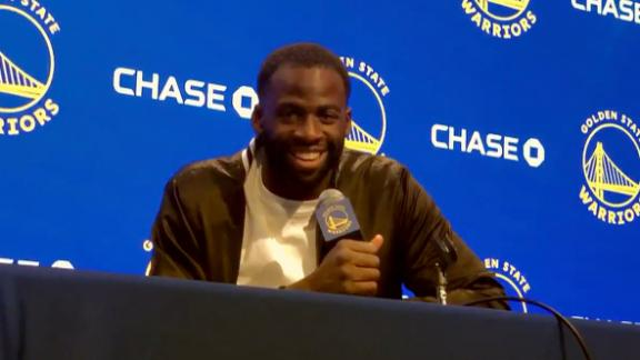 Draymond on finger injury vs. Spurs: 'I couldn't grip the ball'