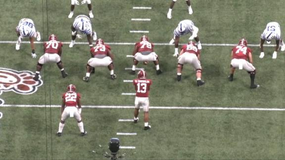 Saban provides insight on Alabama's RPO offense on Detail