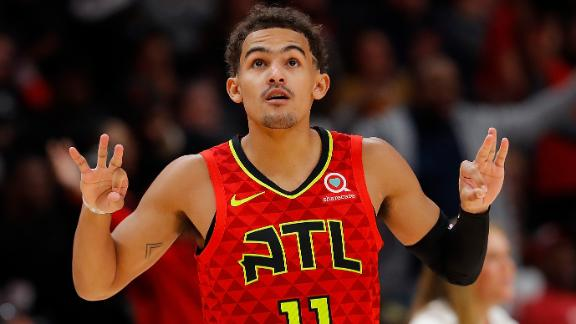 Trae Young returns from injury to lead Hawks to win
