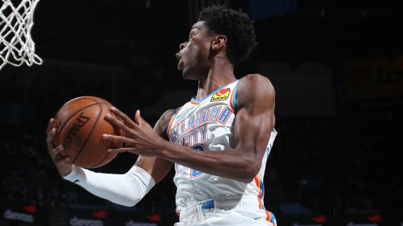 Gilgeous-Alexander drops 24-points vs. Magic