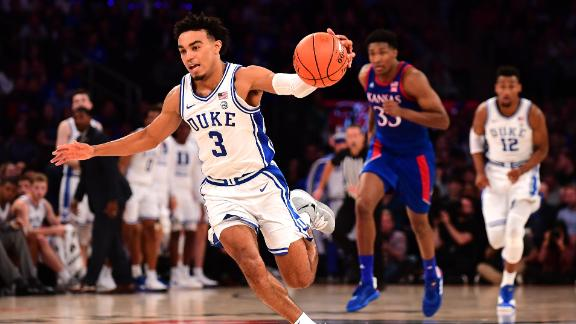 Duke edges Kansas in Champions Classic
