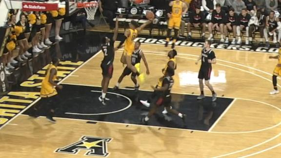 Dennis explodes through lane for big jam