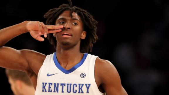 Maxey leads Kentucky past Michigan State