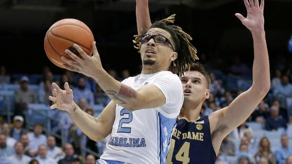 Anthony sets UNC freshman record in terrific debut