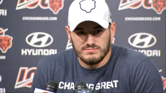 Trubisky wants TVs turned off to mute criticism