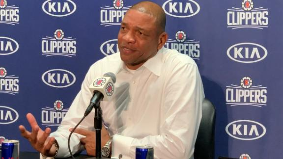 Doc evades questions about NBA fine