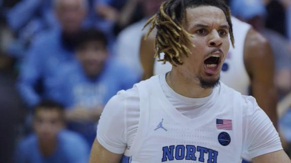 Behind-the-scenes look at Anthony's 34-point UNC debut