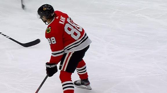 Shaw, Kane each score on the power play