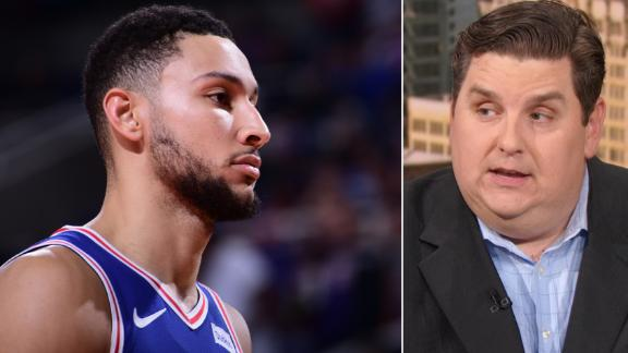 Are the 76ers in trouble if Simmons is out?