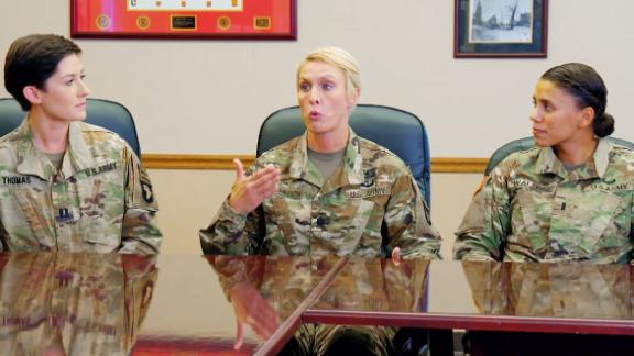 Vets talk progress for females in the military