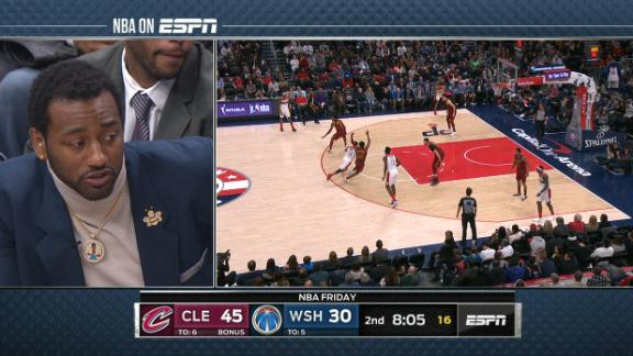 Wall chops it up with broadcast about his health, Beal's success