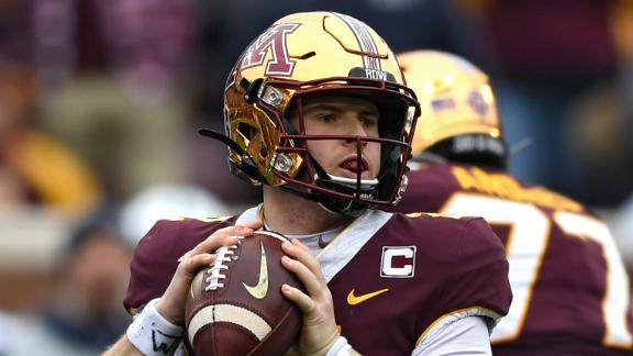 Morgan, defense lead Minnesota to upset victory over Penn State