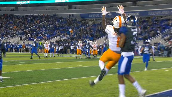 Callaway Mosses defender for Tennessee TD