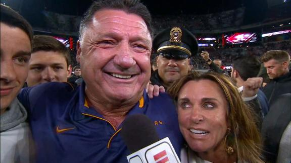 Coach O says LSU knew they would win