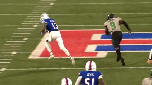 Louisiana Tech WR puts defender on skates, runs 80 yards for TD