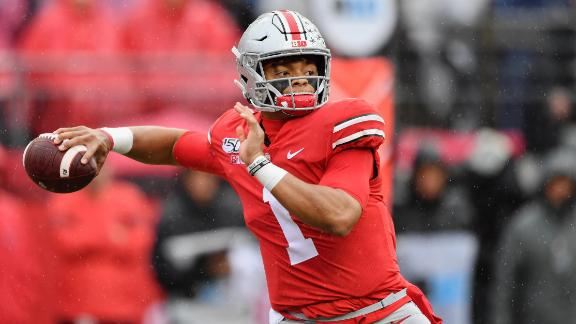 Fields' four TDs leads Ohio State past Maryland