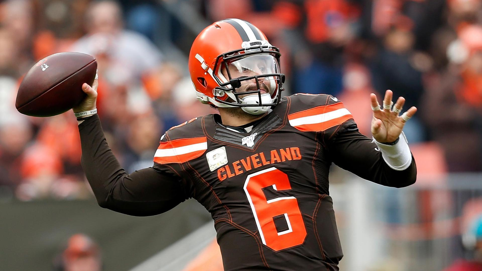 Mayfield throws 2 TD passes as Browns snap 4-game skid