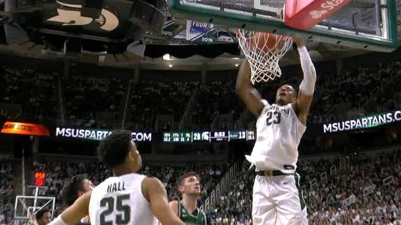 Winston feeds Tillman for alley-oop dunk