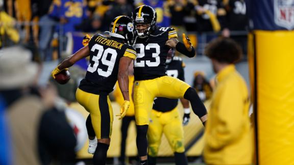 Steelers defense shines in win over Rams