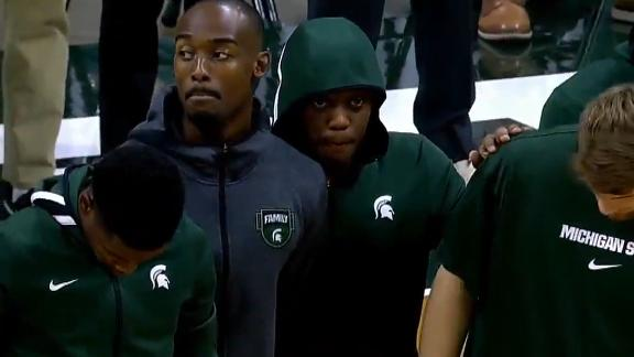 Michigan State holds moment of silence for Winston's brother