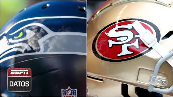 ESPN Datos: Seattle y San Francisco chocan en uno de los mejores MNF