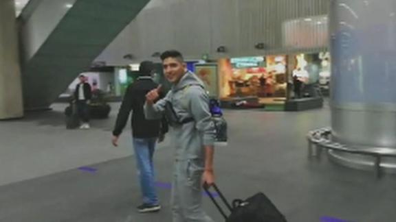Edson Álvarez y Erick Gutiérrez llegaron a la CDMX