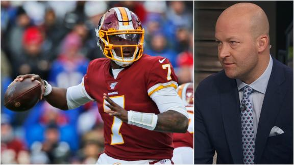 Hasselbeck: There's a reason Haskins wasn't playing