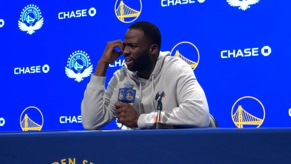 Draymond will never let another grown man tell him not to talk
