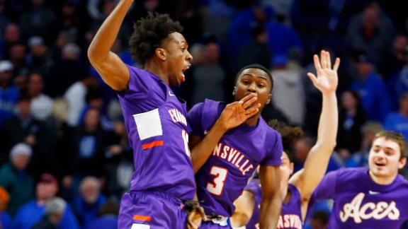No. 1 Kentucky stunned by Evansville