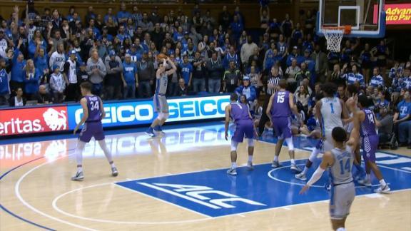 Duke's defense leads to Hurt's triple