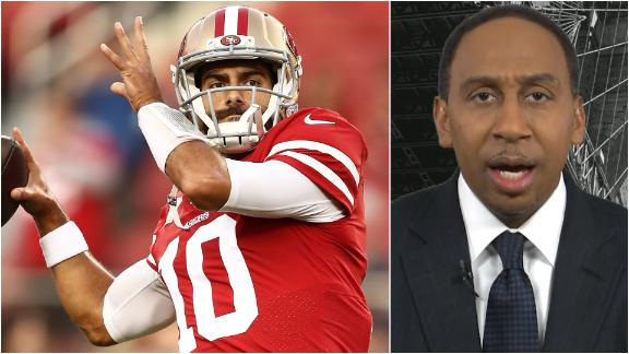 Stephen A.: Jimmy G is the 49ers' weak link