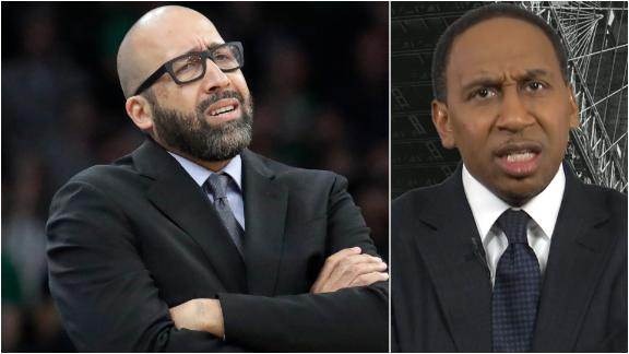 Stephen A.: Mills basically fired Fizdale without firing him