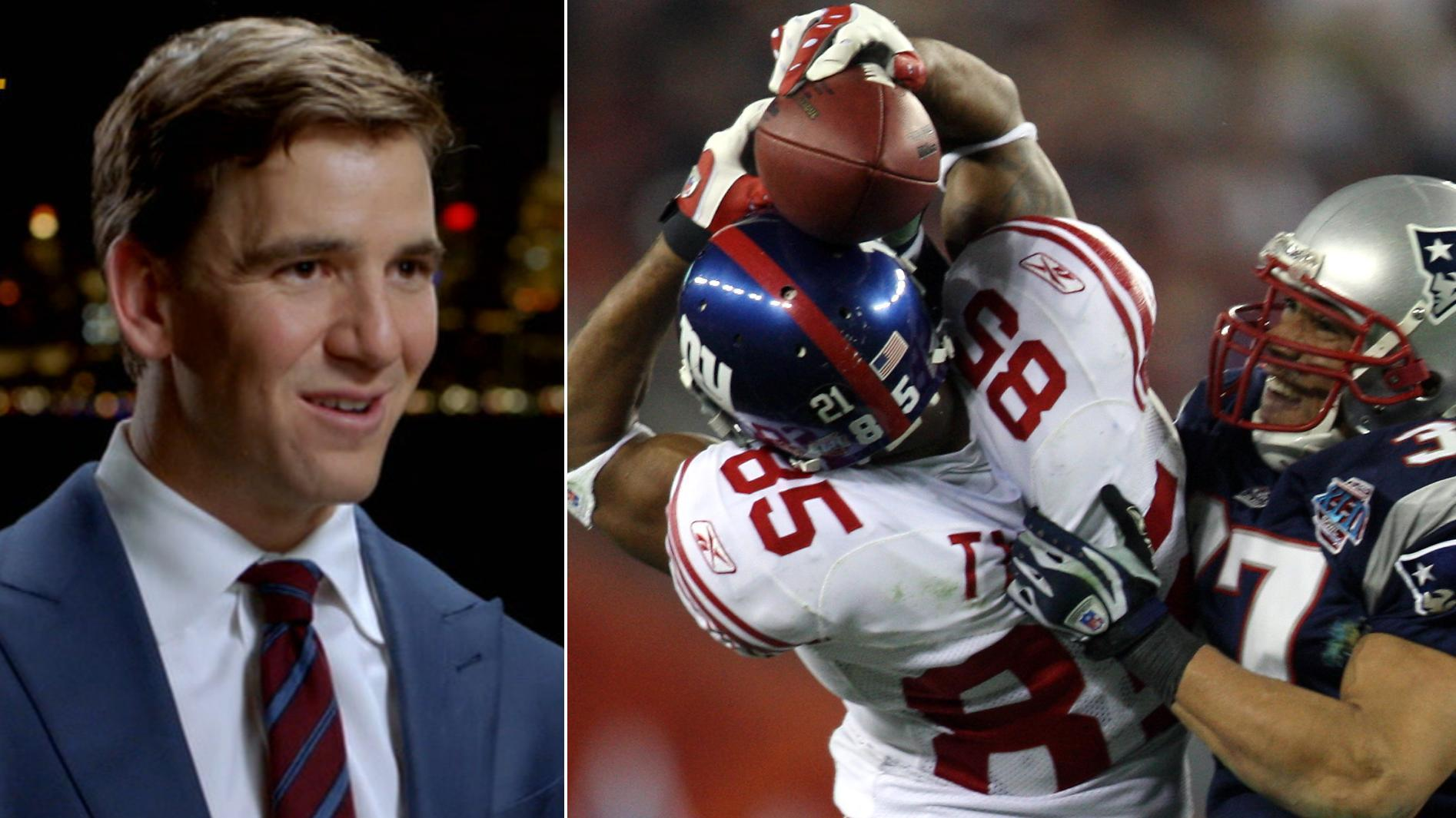 Eli, Peyton recap the greatest upset in Super Bowl history