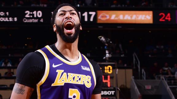 LeBron, AD, Kuzma lead Lakers past the Suns