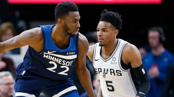 Wiggins, Towns combine for 58 in win