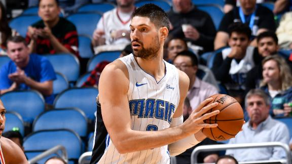 Vucevic posts double-double in win vs. Sixers