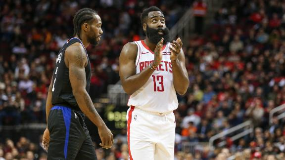 Harden goes off for 47 vs. Clippers