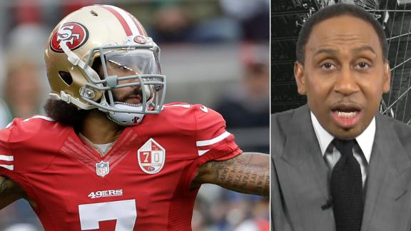 Stephen A. likes Kaepernick to the Bears