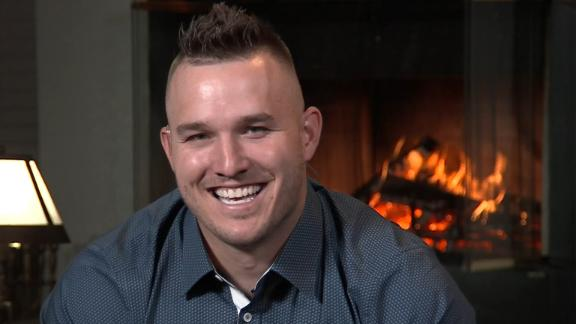 Trout on 3rd MVP: 'I always try to be the best player'