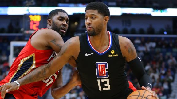 Paul George drops 33 in Clippers debut
