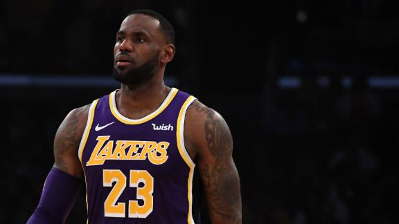 LeBron leads the Lakers past the Warriors