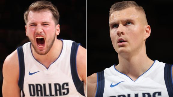 Porzingis returns to MSG, Doncic drops 33-point triple-double in Mavs' loss