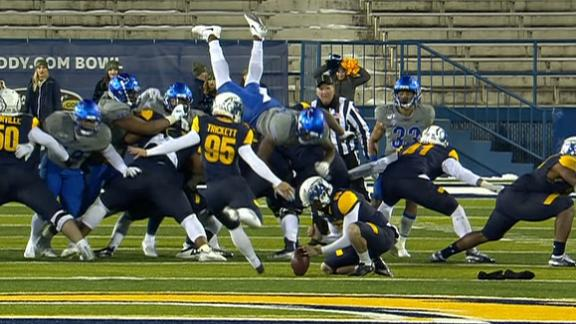 Kent State secures comeback win with last second FG